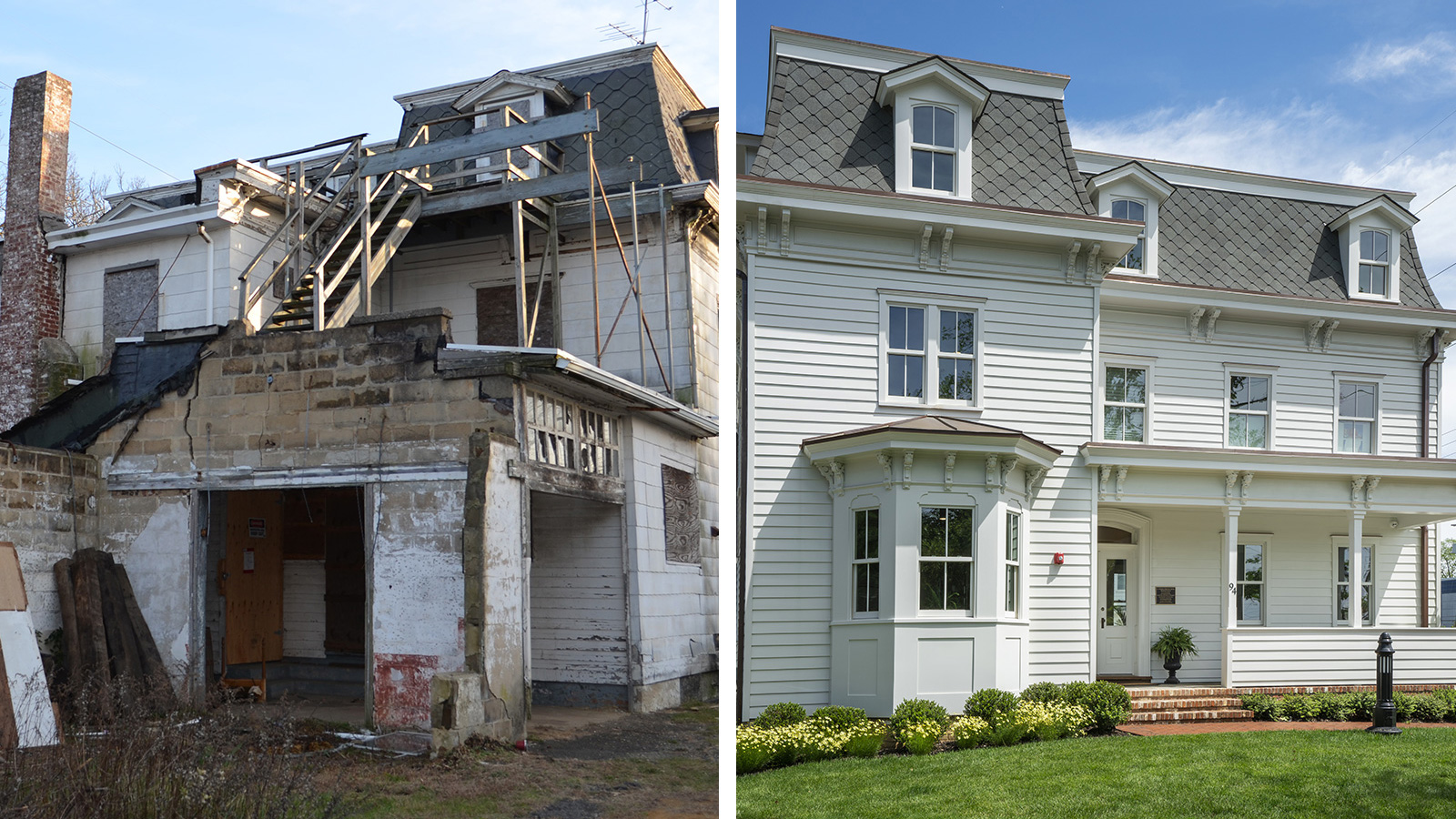 Roger Mumford Homes Before and After