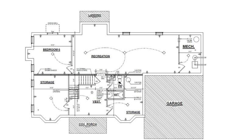 River Vale Thompson floorplan